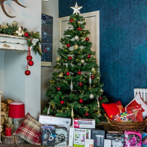 (6ft) Meribel Spruce Christmas Tree - Green