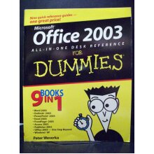 Office 2003 All in One Desk Reference for Dummies - Used
