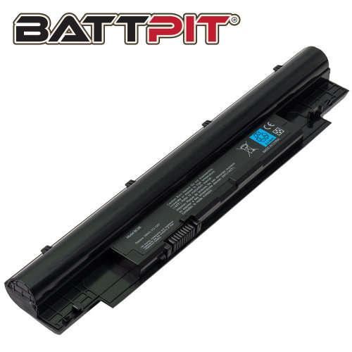BattPit Battery for Dell 268X5 312-1257 312-1258 451-11845 H2XW1 H7XW1 JD41Y N2DN5 Inspiron 13z-N311z 14z-N411z Vostro V131 V131D V131R [6-Cell/49Wh]
