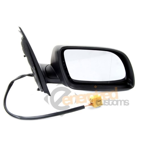 Vw Polo Mk5 2002-2005 Electric Black Wing Door Mirror Drivers Side