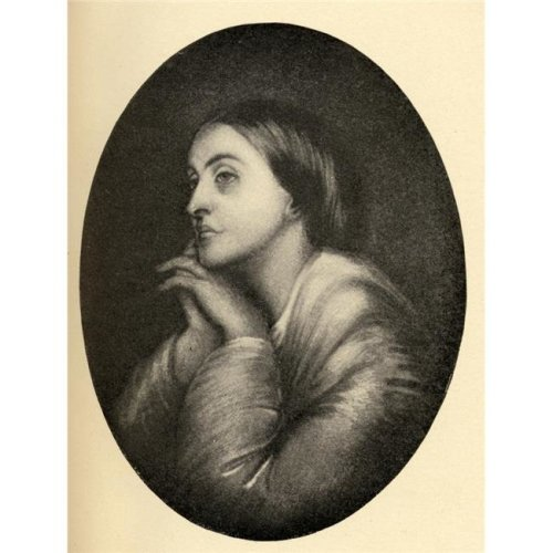 Christina Georgina Rossetti 1830-1894. English 19th Century Poet. Sister of Dante Poster Print, Large - 26 x 34