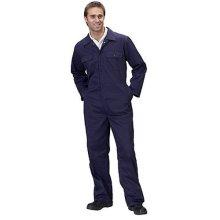 "Click RPCBSN36 Polycotton Boiler Suit Navy Blue 36"""