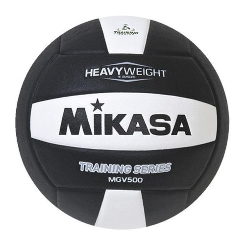 Mikasa Sports 1569080 Setters Training Volleyball, Black & White