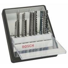 Bosch 2607010540 Wood Jigsaw Blade Set (10-Piece)