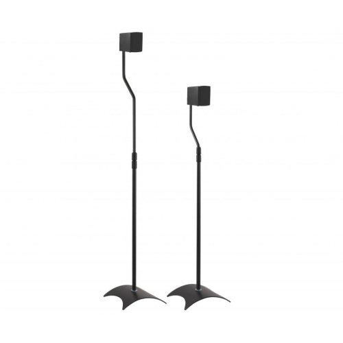 King Black Adjustable Speaker Stands