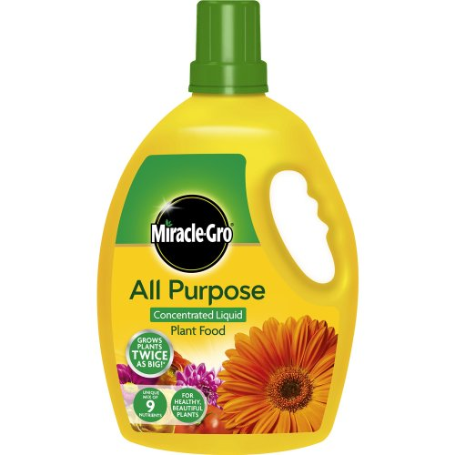 Miracle-Gro All Purpose Concentrated Liquid Plant Food, 2.5L Bottle