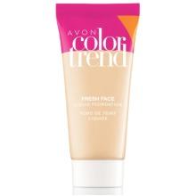 Avon Color Trend Fresh Face Liquid Foundation SPF 15 Natural