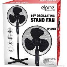 """NEW 16"""" PEDESTAL OSCILLATING STAND FAN ELECTRIC TOWER STANDING OFFICE"""
