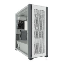 Corsair 7000D Airflow Gaming Case w/ Tempered Glass Window, E-ATX, 3 x AirGuide Fans, High-Airflow Front Panel, USB-C, White
