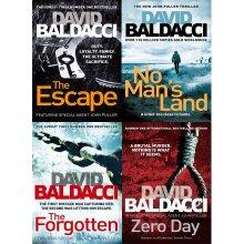 John puller series david baldacci 4 books collection set