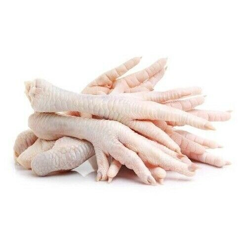 Raw Chicken Feet For Dogs Natural Treat 10 x 1kg Bags Frozen 4PawsRaw