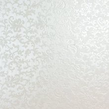 Tapestry Bright White Applique Floral Embossed A4 Pearlescent Floral Card Stunning Vintage Design Slight Sparkle Effect 300gsm (10)