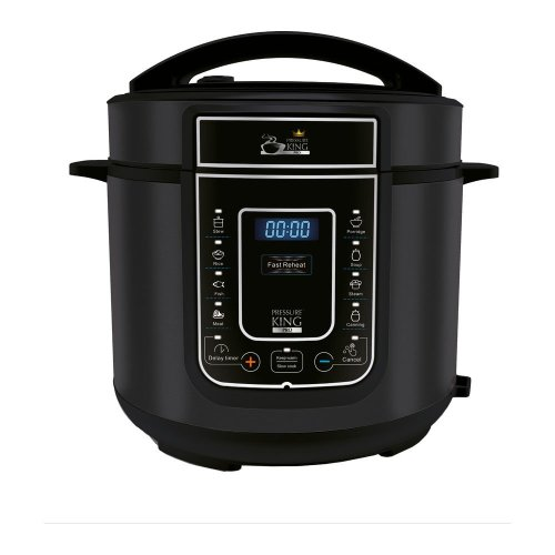 Black Pressure King Pro Digital Pressure Cooker - 3 Litres