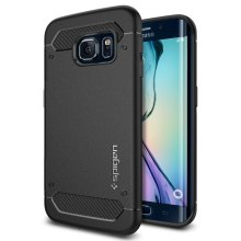 Galaxy S6 Edge Case, Spigen® [Resilient] Galaxy S6 Edge Case Impact Protection **NEW** [Capsule Ultra Rugged] [Black] Ultimate protection from...