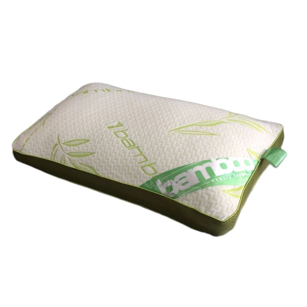 Luxury Baffle Box Bamboo Memory Foam Pillow Neck Head Back Support Anti-Bacteria