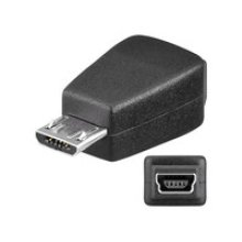 Microconnect USBBMBM USB B USB micro B Black cable interface/gender adapter