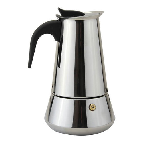 Apollo Stainless Steel Induction 6 Cup Coffee Maker