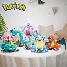 Pokemon Model Blastoise Venusaur Charizard Gyarados Building Blocks Toys Kids Gift