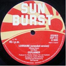 Lorraine (Extended Version) - Explainer - vinyl - Used