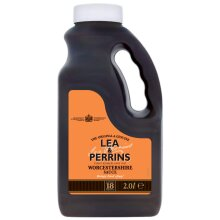 Lea & Perrins Worcestershire Sauce Catering Jars - 2x2ltr