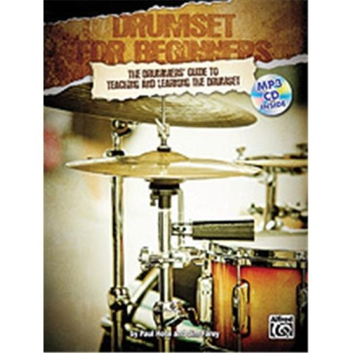 Alfred 00-20091UK DRUMSET FOR BEGINNERS-BK&CD