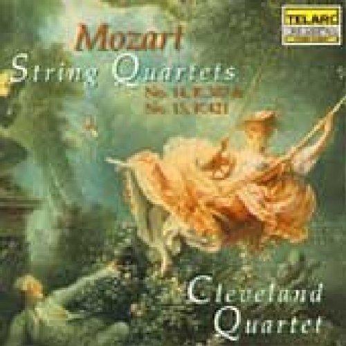 Cleveland Quartet - Mozart: String Quartets Nos. 14 and 15 [CD]