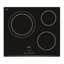 Glass-Ceramic Hob BOSCH PKK631B18E 60 cm (3 Cooking areas)