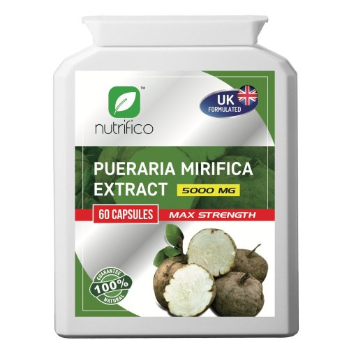 Pueraria Mirifica 10:1 Extract 5000mg High Strength Concentrated Pills