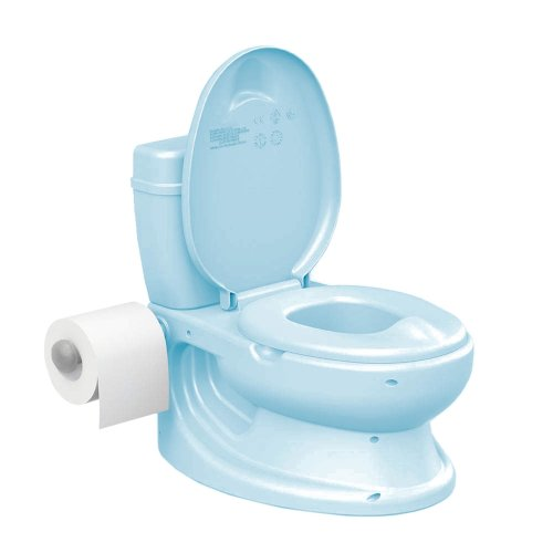 Vinsani® BLUE Toddler Infant First Potty WC - Educational Potty Training Aid Toy