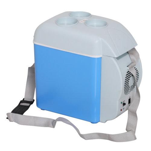 HOMCOM Insulation Box | 2-in-1 Food Heater & Mini Fridge