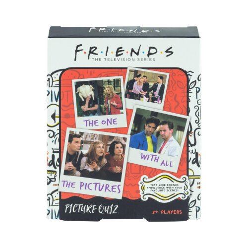 Friends Picture Quiz Officially Licensed Friends TV Sitcom Party Trivia Quiz
