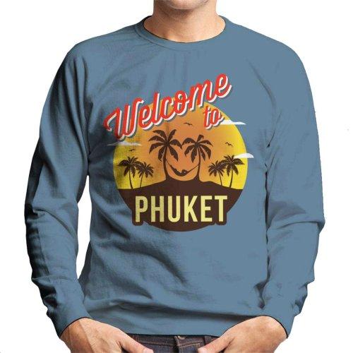 Welcome To Phuket Retro Men's Sweatshirt
