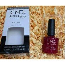 CND Shellac Gel Nail Polish, Ruby Ritz- 7.3ml