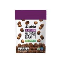 Diablo Milk Chocolate Peanuts 40g