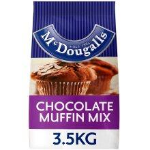 McDougalls Chocolate Muffin Mix - 4x3.5kg