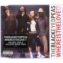 Where Is The Love? - Black Eyed Peas CDS - Used