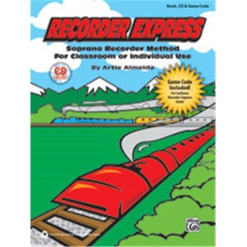 Alfred 00-39583 RECORDER EXPRESS-BK&CD&GAMECODE