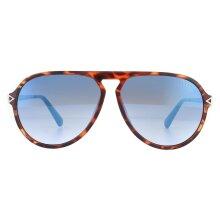 Guess Sunglasses GU6941 53W Light Havana  Blue Gradient