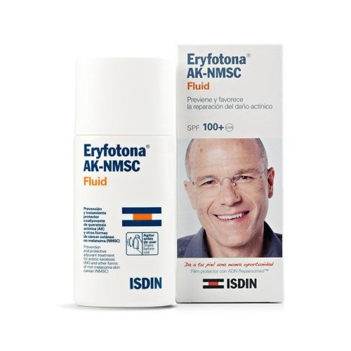 Isdin Sunscreen  Eryfotona Ak-nmsc Spf100+ Fluid 50ml. Non-melanoma Skin