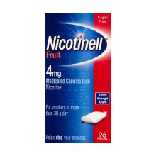 Nicotinell Gum Fruit 4mg - 96 Pieces