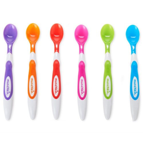 Munchkin 6 Soft Tip Baby Spoons