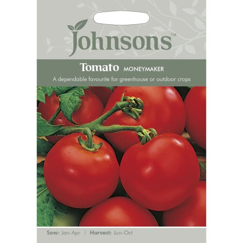 Johnsons Seeds - Pictorial Pack - Vegetable - Tomato Moneymaker - 50 Seeds