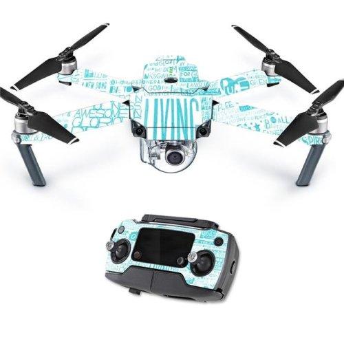 MightySkins DJMAVPRO-Faith Skin Decal Wrap for DJI Mavic Pro Quadcopter Drone Cover Sticker - Faith