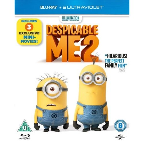 Despicable Me 2 Blu-Ray [2013]
