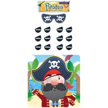 Stick The Eye Patch On The Pirate Game