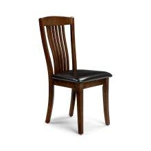 Julian Bowen Canterbury Mahogany Effect Furniture - Tables & Chairs#Dining Chair x2