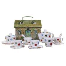 19pc Emma Bridgewater Children's Polka Dot Tea Set
