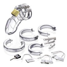 Penis Chatisty Set CB6000 - Clear - 37 mm - CB-X