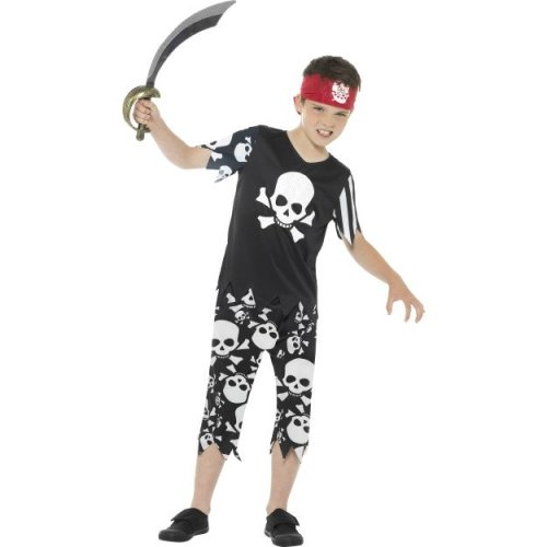Pretty Pirate of the Carribbean Buccaneer Child Girls Costume S