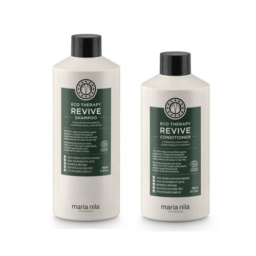 Maria Nila Eco Therapy Revive Shampoo and Conditioner Set 300/350ml